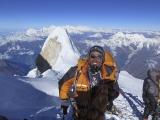 Na vrchole Manaslu...