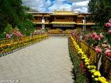 Lhasa, Norbulinka - letný palác Dalajlámu...