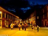 Večerné prechádzky v starej Lhase - Barkor...