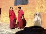 Mnísi v kláštore Tashilumpo...