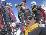 Na vrchole Island Peaku v Nepále...