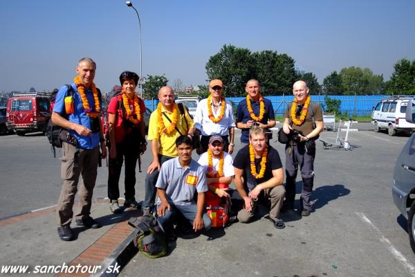 Prílet do Kathmandu...