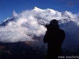 Klesanie do údolia Kali Gandaki...