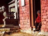 Kláštor v Tengboche...