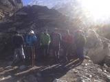 Symbolický cintorín pri BC pod Mt. Everestom...