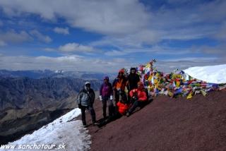 Na vrchole Stok Kangri...