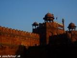 Červená pevnosť v New Delhi...