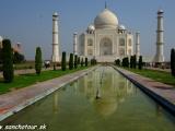 Božský Taj Mahal v Agre...
