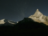 Posvätná hora Shivling zasvätená bohovi Šivovi...