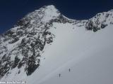 Na Grossglockner sa vydávajú aj skialpinisti...