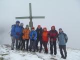 Náša skupina na vrchole Zinodl...