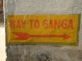 Tým smerom je Ganga...