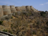 Pevnosť Kumbhalgarh - druhý najdlhší systém obranných múrov na svete (po čínskom múre)...