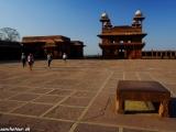 Mesto duchov Fatehpur Sikri postavil panovník Akbar ako svoje nové hlavné mesto....