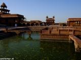 Paláce vo Fatehpur Sikrí...