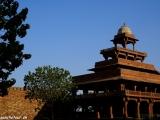 Panch Mahal - päťposchodový chrám v komplexe...