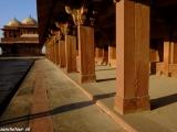 Fatehpur Sikri žilo len 14 rokov kým vyčerpali zásoby spodnej vody...