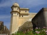 V pevnosti Kumbhalgarh...