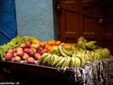 Pouličný predaj v Indii...