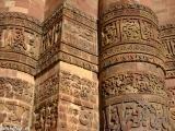 Detaily najvyššieho minaretu v Indii...
