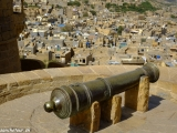 Na hradbách Jaisalmeru...
