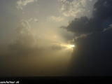 Západ slnka v púšti Thár...