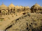 Hrobky panovníkov Jaisalmeru...