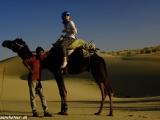 Camel safari je fajn...