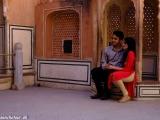 Indický pár na svadobnej ceste...