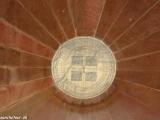 Detail prístrojov v observatóriu v Jaipure...
