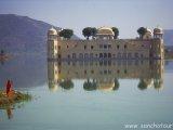 Vodný palác v Jaipure...