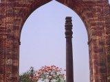 Qutub Minar v Dílí...