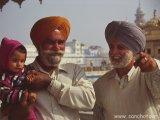 V Zlatom chráme v Amritsare...