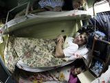 Pohoda v nočnom vlaku Teherán - Yazd...