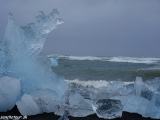 Ľadové kráľovstvo na pobreží Atlantiku...