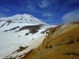 Geotermálna oblasť Hveradalur v Čarodejných horách...