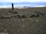Islandské vnútrozemie, najvyššie miesto na ceste F35...