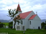 A maličký kostolík na severe Islandu...
