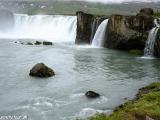 Božský vodopád Godafoss...
