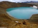 Zatopený kráter sopky Víti - Peklo...