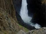 Malý vodopád Litlafoss...