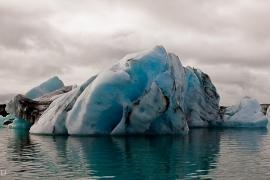 Ľadovcová lagúna Jokulsarlón...