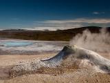 Geotermálna oblasť Hveravelir...