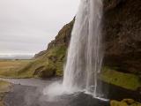 Vodopád Seljalandfoss...