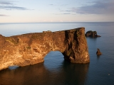 Brána Islandu Mys Dyrholey - najjužnejšie miesto Islandu...