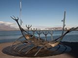 Reykjavík - Slnečná loď...