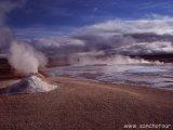 Geotermálna oblasť Hveravellir...