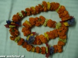 Kvetinový náhrdelník...
