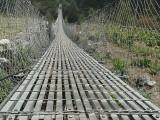Náš prvý visutý most v Nepále...