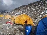 A náš base camp pod Island Peakom...